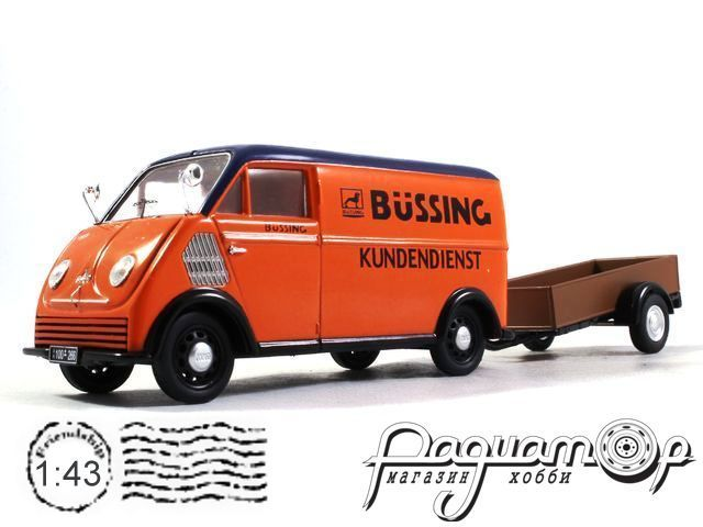 DKW Schnelllaster Bussing with trailer (1949) 450238900