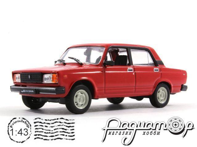 Автолегенды СССР №67, ВАЗ-2105 «Жигули» (1979)
