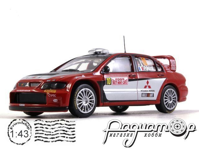Mitsubishi Lancer WRC №10 Rally Monte Carlo, Panizzi/Panizzi (2005) 61240