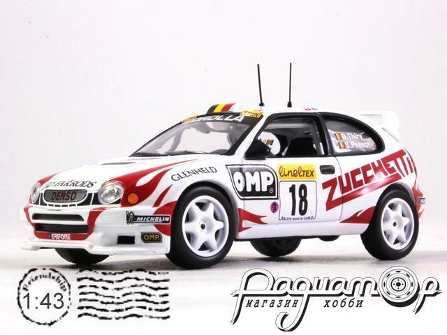 Toyota Corolla WRC №18 Rally Monte Carlo, Thiry/Prevo (2000) BW085