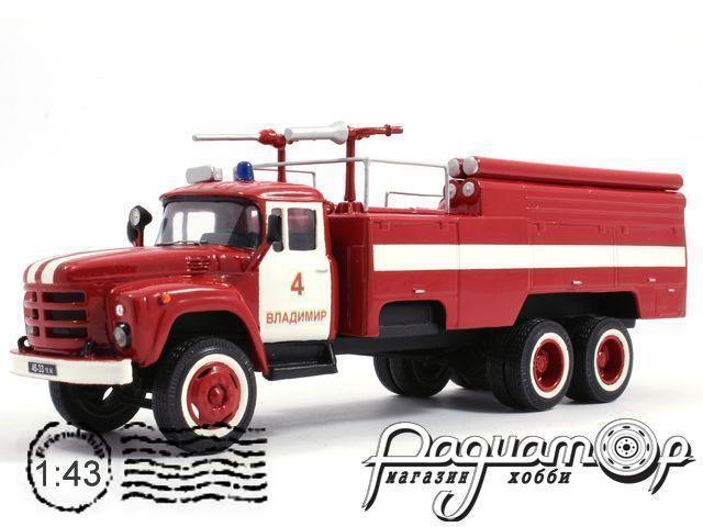 ЗиЛ-133ГЯ АКТ-3/2,5 197 пожарный (1980) 7-6-4