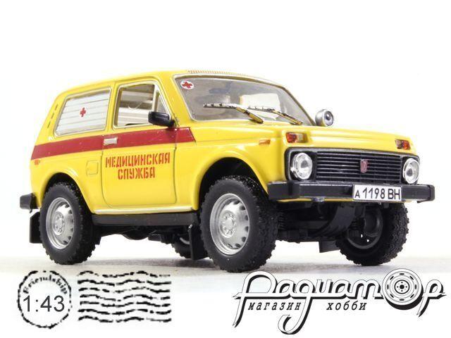 ВАЗ-2121 «Нива» Медслужба (1977) 1699