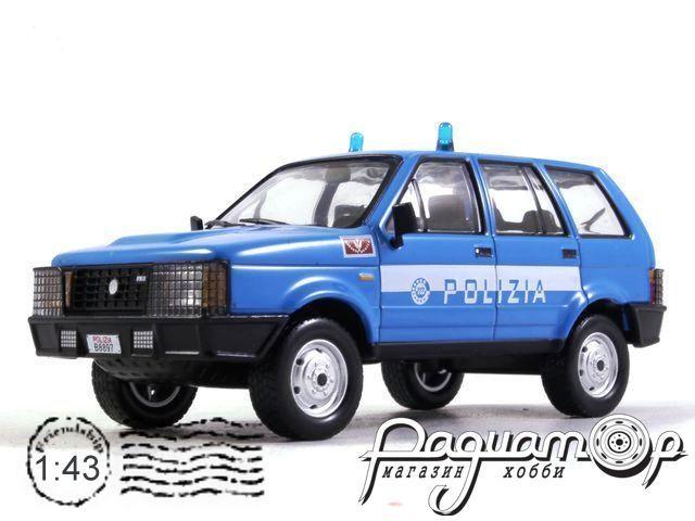 Полицейские машины мира. Спецвыпуск №2, Rayton Fissore Magnum 2,5 TDI Полиция Италии (1997) (ZU)