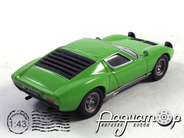Суперкары №26, Lamborghini Miura P400 (1966)