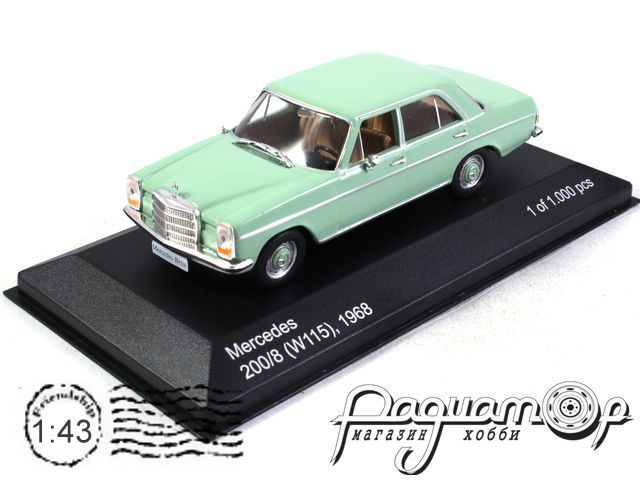 Mercedes-Benz 200/8 (W115) (1968) WB192