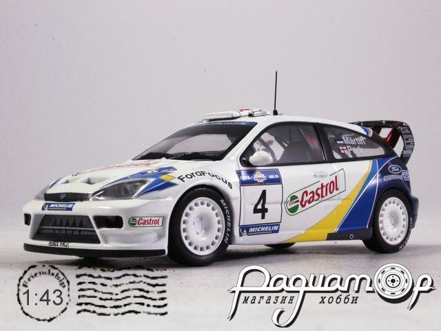 Ford Focus WRC Rally Acropolis, Castrol Martin - Park (2003) 30975 (I)