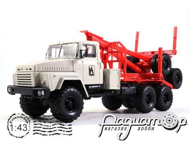 КрАЗ-260Л лесовоз с роспуском (опытный) (1980) H728