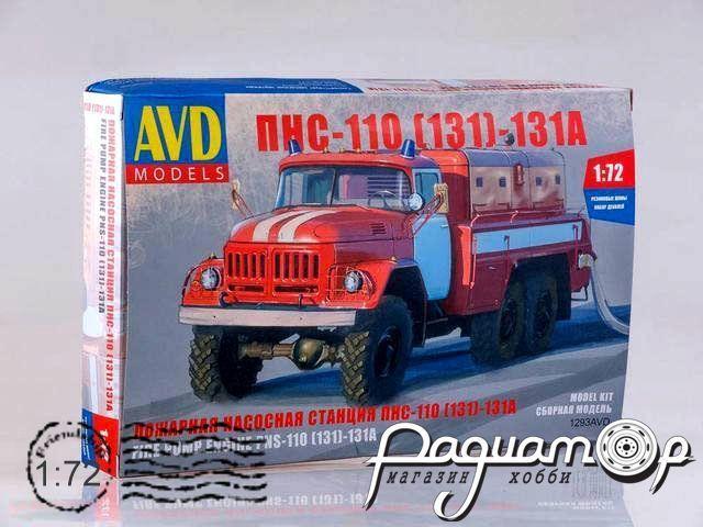 Сборная модель ПНС-110 (131)-131А (1980) 1293AVD