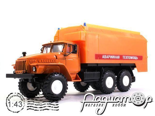 УРАЛ-4320 кунг АТП (1977) 2003