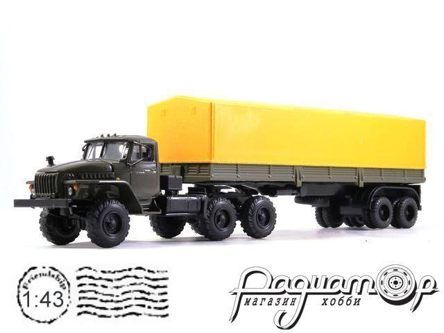 УРАЛ-44202 с полуприцепом с тентом (1983) 2010