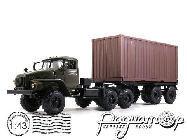 УРАЛ-44202 контейнеровоз (1983) 2013-1