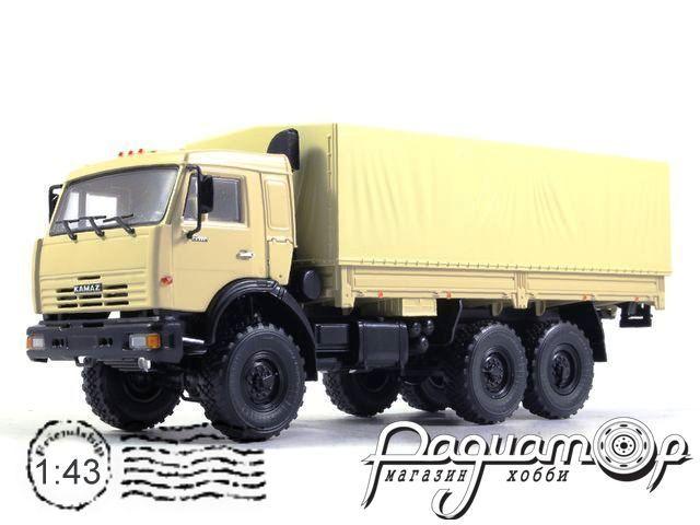 КамАЗ-43118 6х6 с тентом (1995) 101944-W