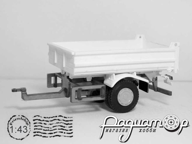 Набор для сборки Прицеп МАЗ-856400 Самосвал MM2047