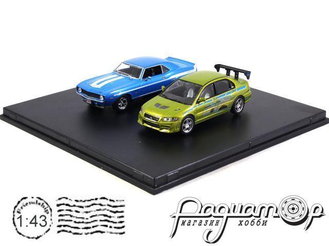 Набор Chevrolet Yenko Camaro and Mitsubishi Lancer из к/ф