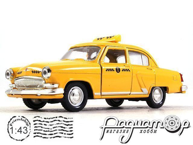 ГАЗ-21 «Волга» Такси (1956) 34107