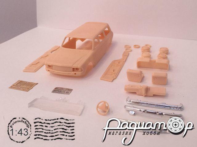 Транскит ГАЗ-3102 Универсал (с хромированными бамперами и решеткой) (1982) MM1031-X
