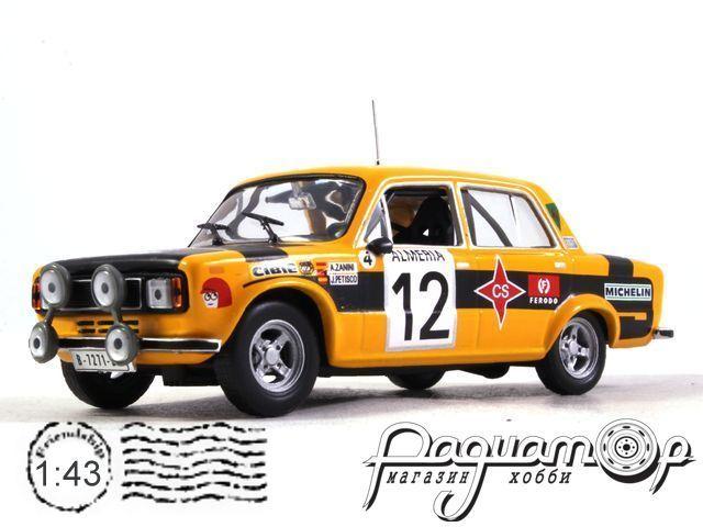 Seat 124 DS1800 №12 Rally Monte Carlo, Zanini/Petisco (1977) BW025