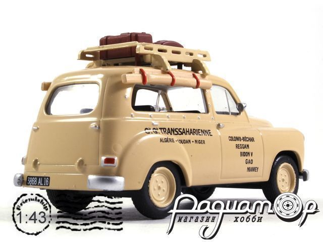 Renault Colorale Taxi Algiers (1950) TSG24