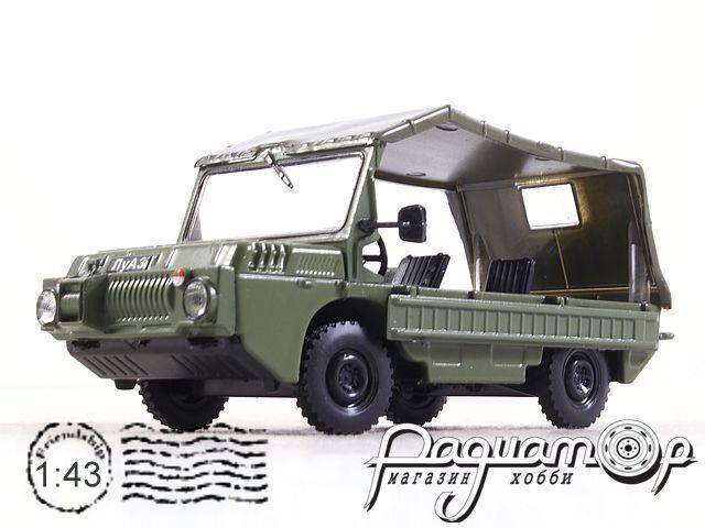 Автолегенды СССР №69, ЛуАЗ-967 (1961)