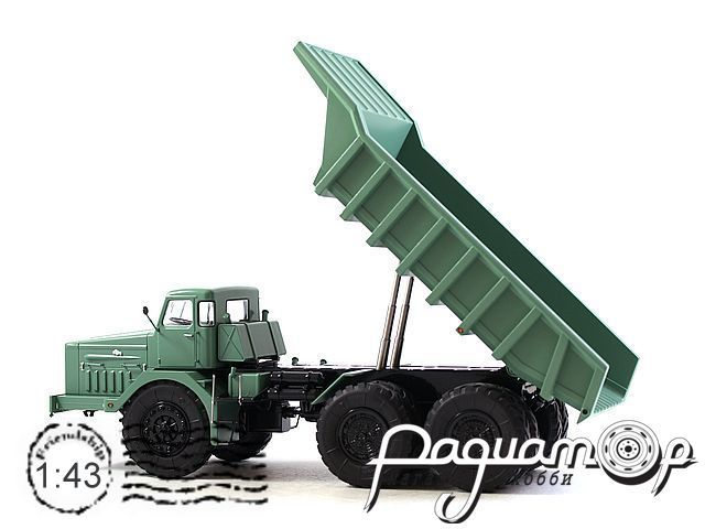 МАЗ-530 карьерный самосвал (40 тонн) (1957) SSML011