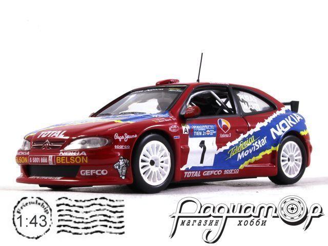 Citroen Xsara Kit Car №1 Rally de Ourense, Jesys Puras - Marc Marti (2000) 170417 (L)
