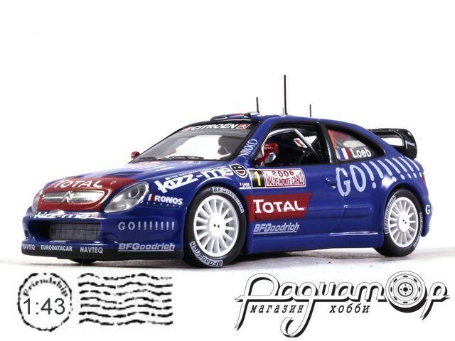 Citroen Xsara WRC №1 Rally Monte-Carlo, S.Loeb - D.Elena (2006) 170418 (L)