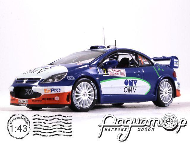 Peugeot 307 WRC №7 Rally Monte-Carlo, M.Stohl - I.Minor-Petrasko (2006) 170419 (L)
