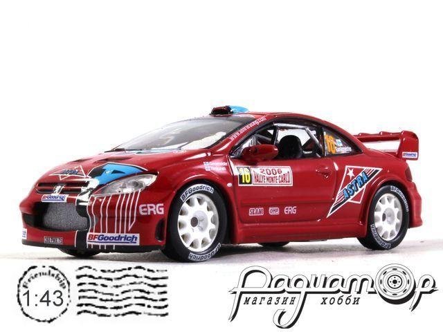 Peugeot 307 WRC №16 Rally Monte-Carlo, T.Gardemeister - J.Honkanen (2006) 170420 (L)