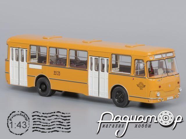 ЛиАЗ-677М 3-й Автобусный парк (1983) 04018F