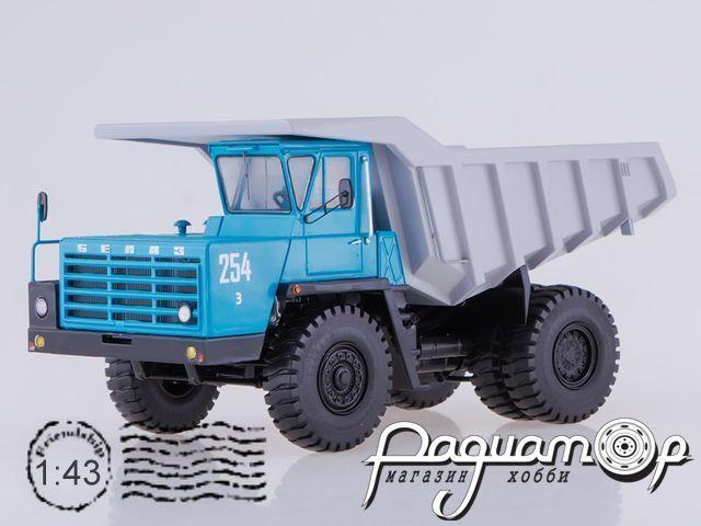 БЕЛАЗ-540А карьерный самосвал (1965) SSML017
