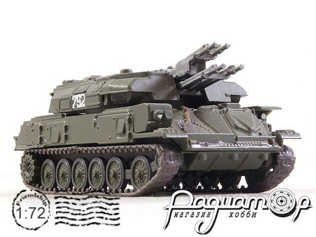 Русские танки №38, ЗСУ-23-4 «Шилка» хаки (1964)