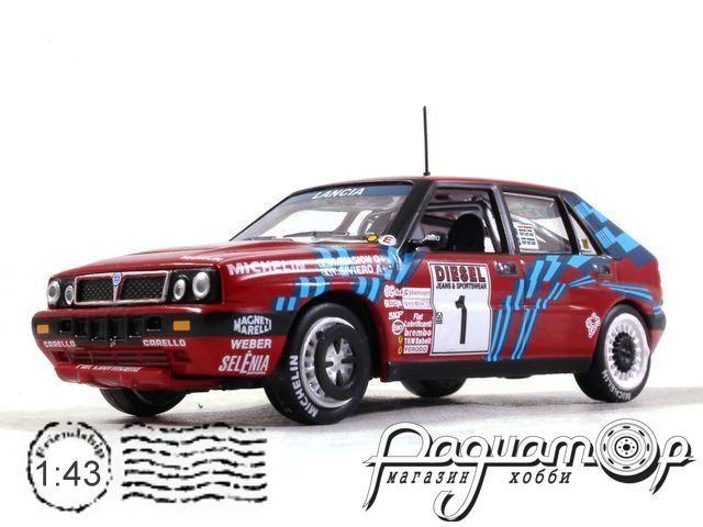 Lancia Delta Integrals 16V №1, Rally Sanremo, Biasion - Siviero (1989) (L)
