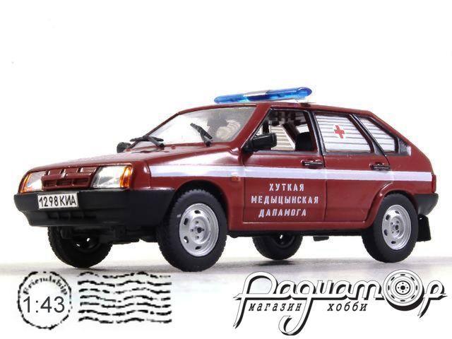 ВАЗ-2109 Скорая помощь Белоруссии (1987) конверсия