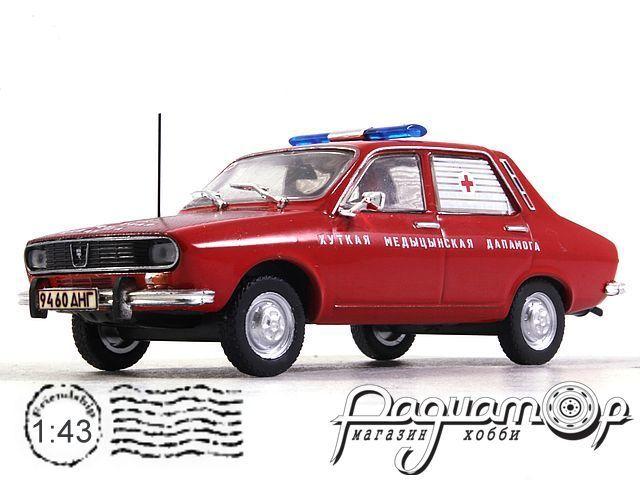 Dacia 1300 Скорая помощь Белорусии (1969) конверсия