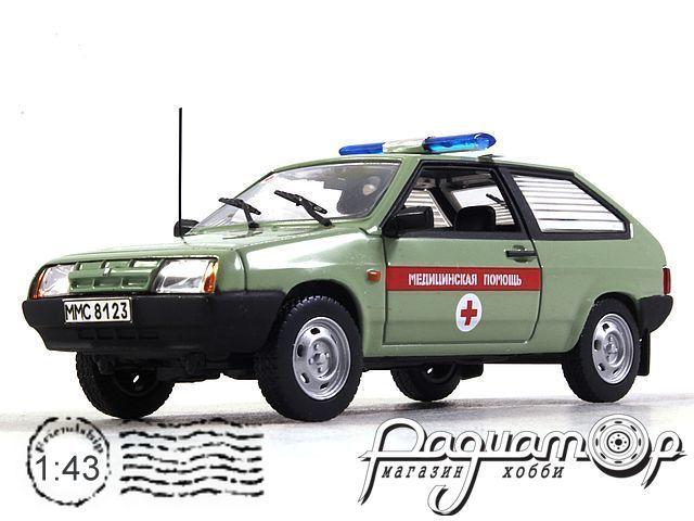 ВАЗ-2108 Медицинская Помощь (1984) конверсия