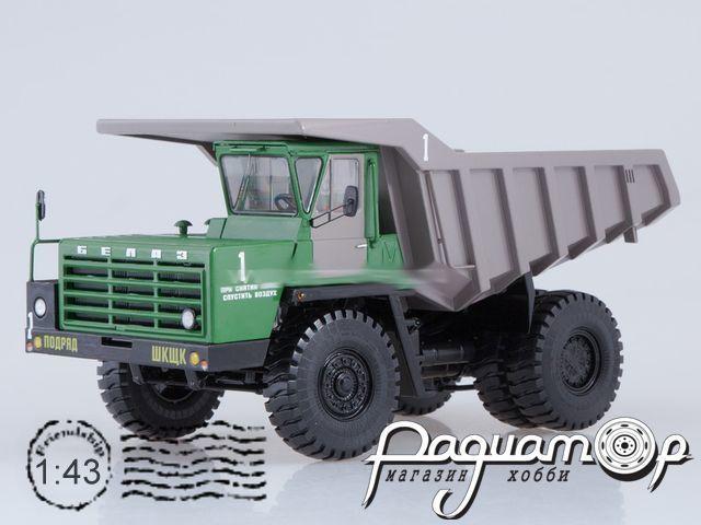 БЕЛАЗ-540А карьерный самосвал (1965) SSML016