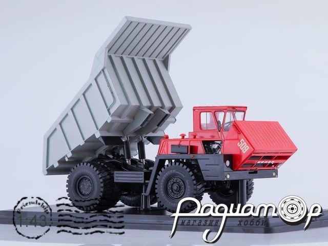 БЕЛАЗ-7522 карьерный самосвал (1985) SSML019