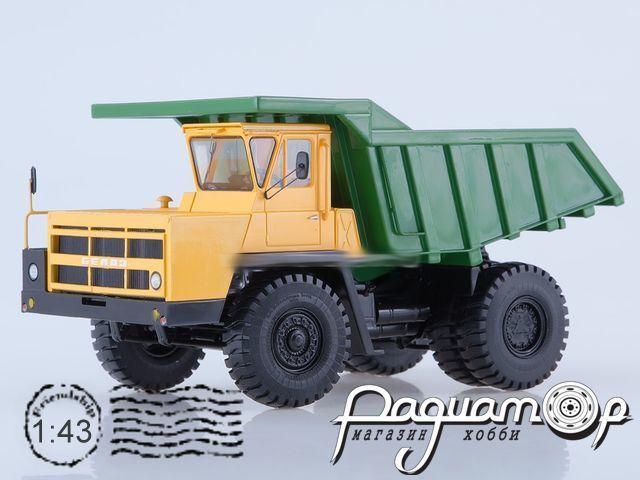 БЕЛАЗ-7522 карьерный самосвал (1985) SSML020
