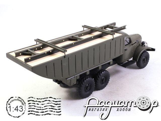 ЗИЛ-157 речное звено пантонной переправы (1956) 170530