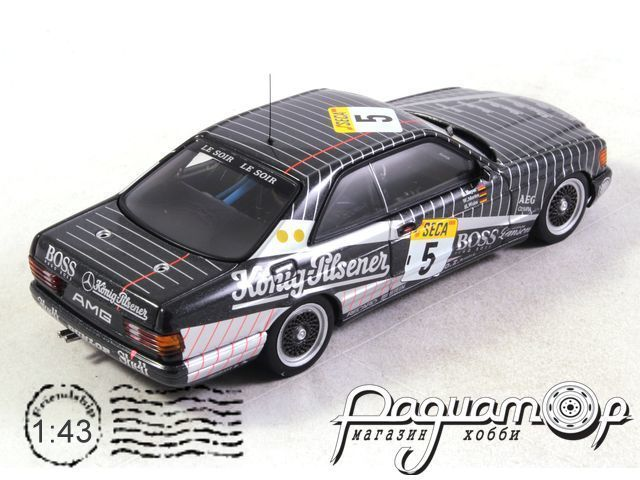 Mercedes 500 SEC AMG №5 Spa, Heyer/Mertes/Weiss (1989) 29334