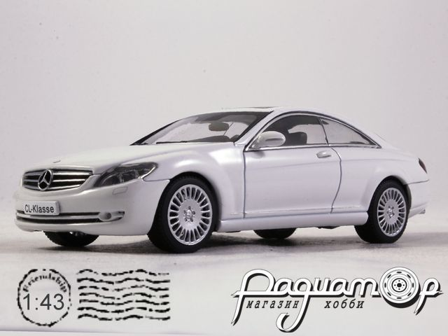 Mercedes CL-Klasse Coupe (2006) 56243