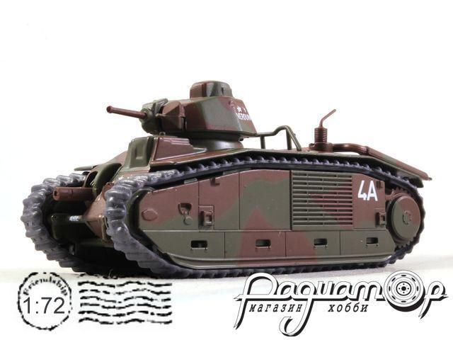 Боевые машины мира №26, Char B1 bis (1944)