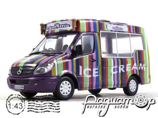 Mercedes-Benz Sprinter Ice Cream Whitby Mondial