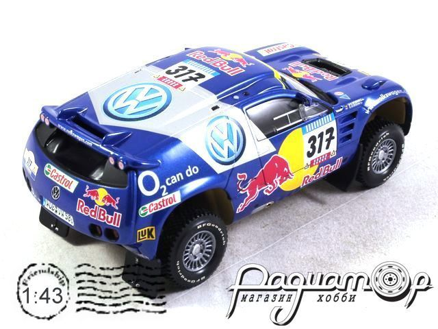 Volkswagen Race Touareg №317 Rally Paris-Dakar (2005) 34343