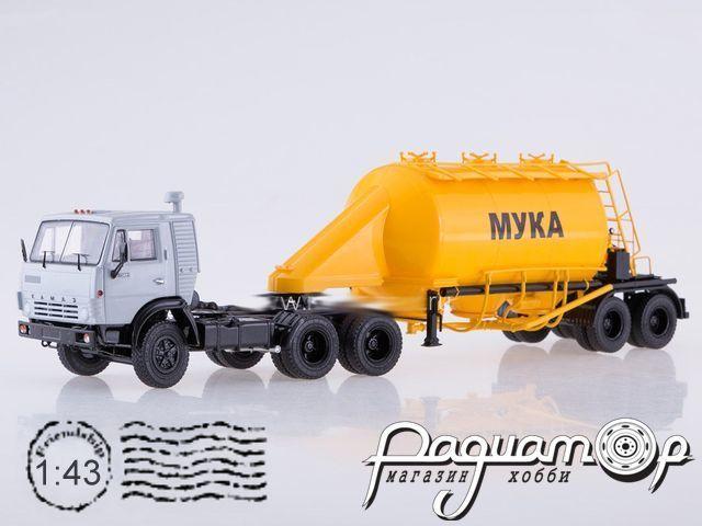 КамАЗ-54112 с полуприцепом-муковозом АСП-25 (1980) SSM7032