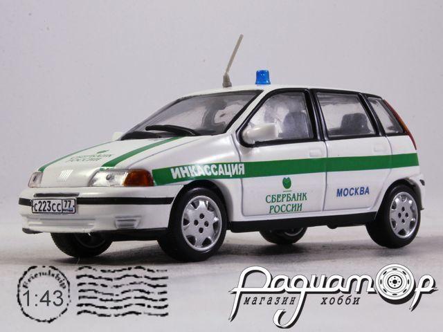 Fiat Punto Инкасация (1999) конверсия