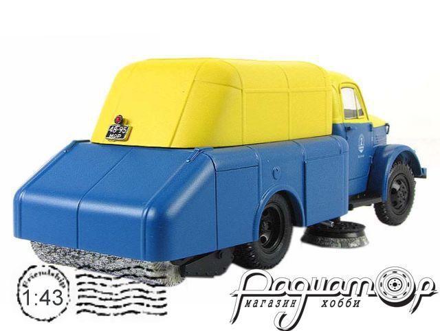 ГАЗ-51А ПУ-20 подметально-уборочная машина (1946) 105106 (V)