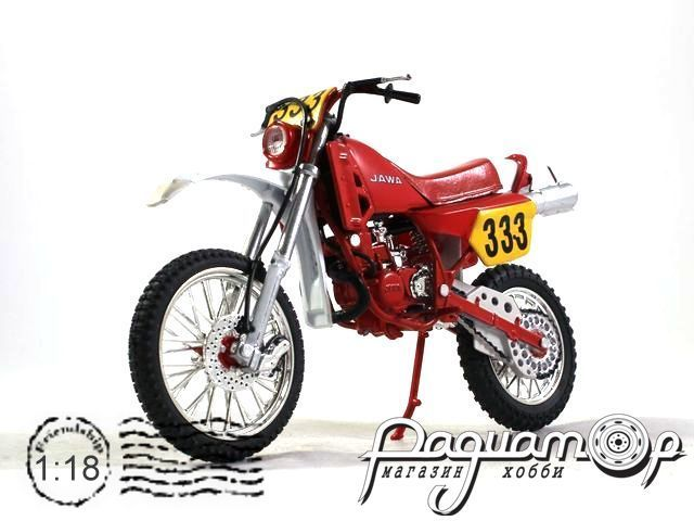 Мотоцикл Jawa 250 typ 681 Enduro (1987) 003