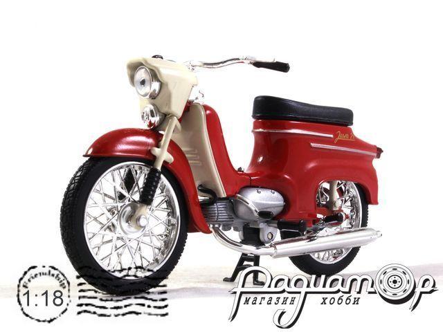 Мотоцикл Jawa 50 Pionyr typ 21 (1967) 011C