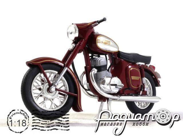 Мотоцикл Jawa 350 Kyvacka Automatic (1966) 118M-002